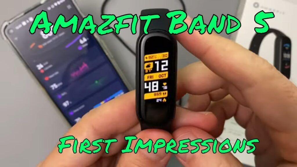 Amazfit Band 5 | First Impressions | Like the Mi Band 5, but better! | Свежие новости | Фитнес браслеты | Смарт часы